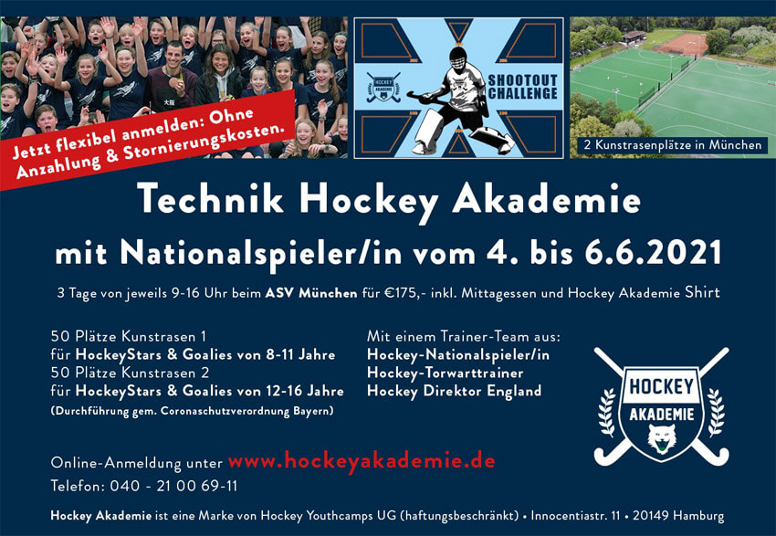Banner Hockey Akademie-Camp im ASV